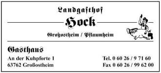 Landgasthof Hock Image